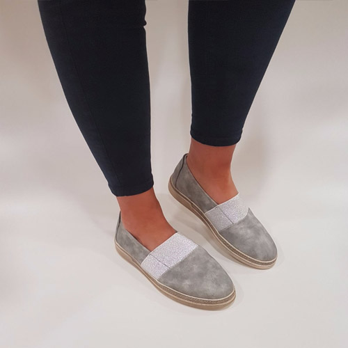 c62ec254d427a7 Heavenly feet patricia silver grey slip on shoe mcgowans footwear jpg  500x500 Feet in slip ons